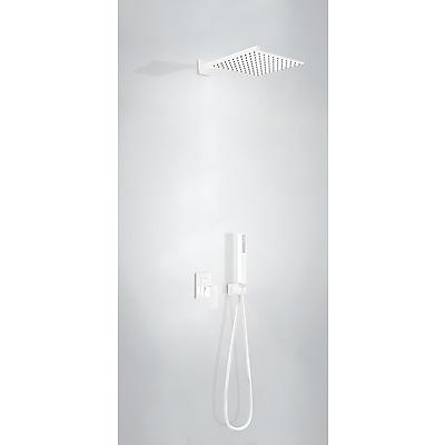 Podomítkový jednopákový sprchový set s uzávěrem a regulací průtoku. Včetně podomítkového tělesa Pevná sprcha 300x30 (00698002BM)