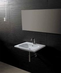 NEAT keramické umyvadlo 60x45cm (SAPHO23100601), fotografie 2/2
