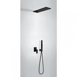 Podomítkový jednopákový sprchový set  s uzávěrem a regulací průtoku.· Včetně podomítkovéh (00618003NM) - TRES