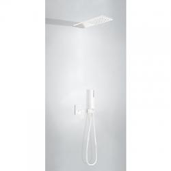 Podomítkový jednopákový sprchový set  s uzávěrem a regulací průtoku.· Včetně podomítkovéh (00618003BM) - TRES
