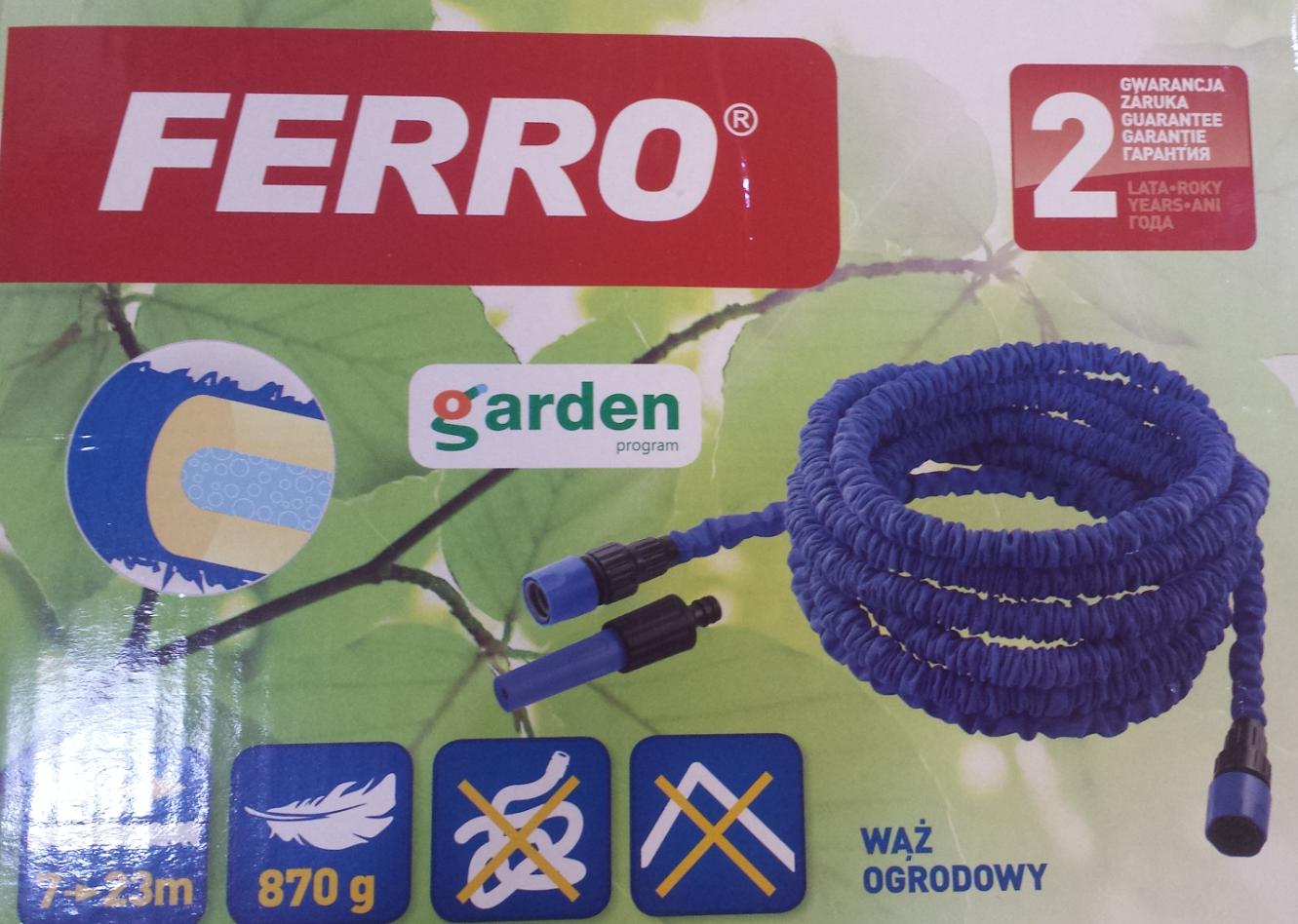 VÝPRODEJ - Zahradní hadice 7,5 -23m (COBRA3VYP), fotografie 2/2