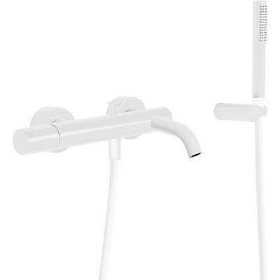 Sprchová baterie Ruční sprcha s nastavitelným držákem, proti usaz. vod. kamene. Flexi hadi (26117001BM) Tres