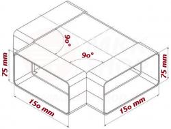 FACTOR Tvarovka T 75x150 (2331012) - Ostatní, fotografie 2/1