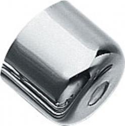 SAPHO - Pisoárová krytka s otvorem, chrom (SAPHOAT92451/434800)