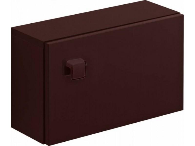 002-DSM) skříňka NANO závěsná univerzální HNĚDÁ