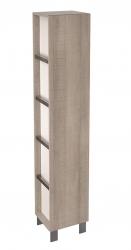 CERSANIT - Skříňka vysoká přídavná CITY, šedý dub (S584-001)