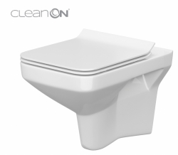Závěsné WC COMO NEW CLEANON BEZ SEDÁTKA (K32-020) - CERSANIT