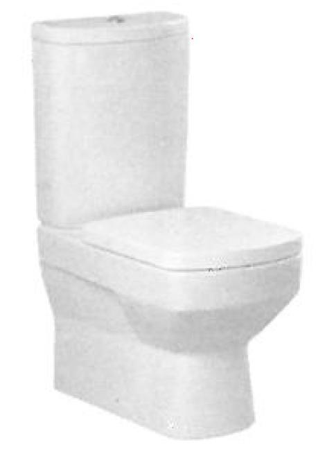 CERSANIT - WC kombi mísa GRAVIA GR010/GR020 B (K26-003)