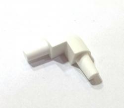 Ostatní - PVC rohový segment bílý - 8mm (EURO17020 3)