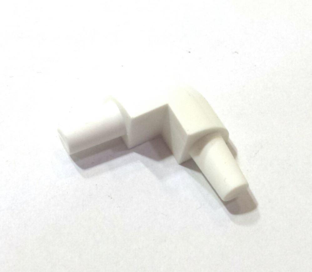 Ostatní - PVC rohový segment bílý - 10 mm (EURO17038 8)