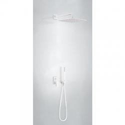 TRES - Podomítkový jednopákový sprchový set s uzávěrem a regulací průtoku (21198091BM)