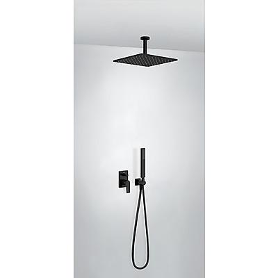 TRES - Podomítkový jednopákový sprchový set s uzávěrem a regulací průtoku (21118080NM)