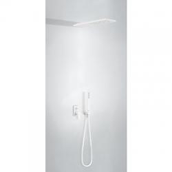 TRES - Podomítkový jednopákový sprchový set s uzávěrem a regulací průtoku.· Včetně podomítkového (21198092BM)