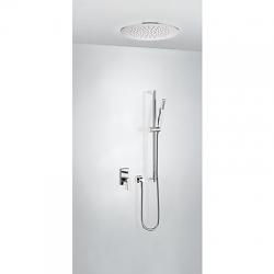 TRES - Podomítkový jednopákový sprchový set s uzávěrem a regulací průtoku. · Včetně podomítkového (21198094)