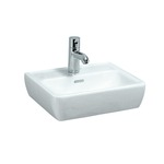 Laufen - L.PRO-A bílá umývátko 45x34 s otvorem, hranaté 8.1195.1.000.104.1 (H8119510001041)