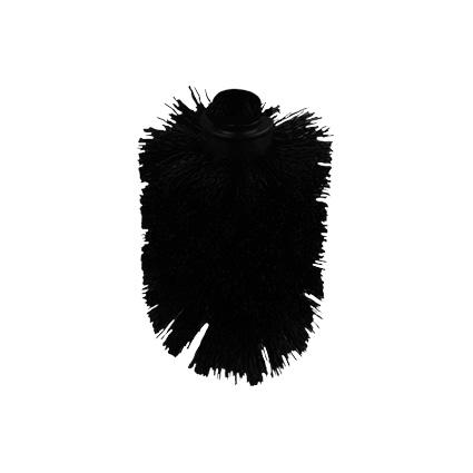 Flexira - LaVilla náhradní koncovka WC kartáče (štětka) černá (BE4072A-3)
