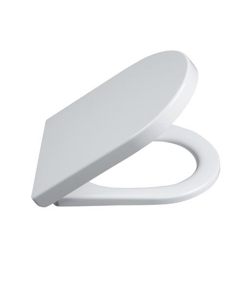 Plast Brno - WC sedátko AGÁTA SoftClose (zpomalovací), odnímatelné, duroplast, antibakteriální OSA0000 (OSA0000)