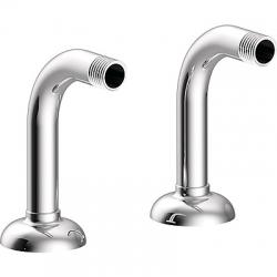 TRES - Rohový ventil vana-sprcha 2kusy stlumičem (24287101)
