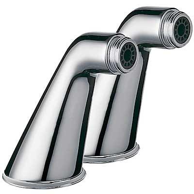 Rohový ventil vana-sprcha 2 kusy s tlumičem (02487101LV)