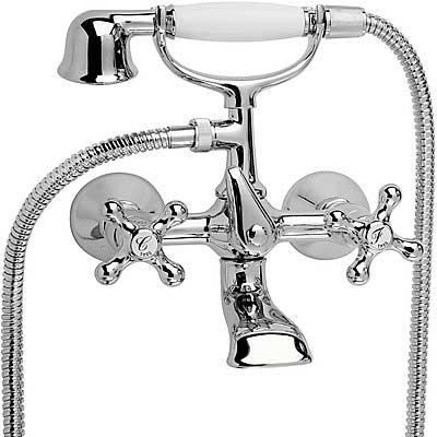Set vana-sprcha Sprcha, proti usaz. vod. kamene. Flexi hadice sdvojitým opletem. (53217601) Tres