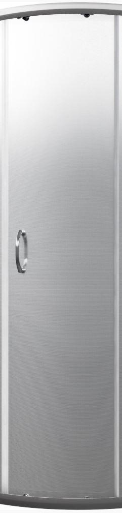 CERSANIT - Náhradní dveřní sklo /tkanina/ do sprchového čtvrtkruhového koutu SAONA 180cm (S900-2506)