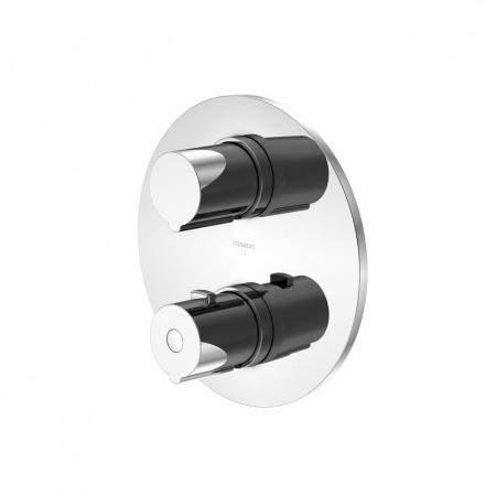 STEINBERG - Podomítková termostatická baterie 3-cestná /bez montážního tělesa/, chrom (100 4123 1)