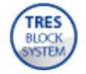 Termostatický podomítkový vanový set BLOCK SYSTEM s uzávěrem a regulací průtoku (2-cestná) (20725207)