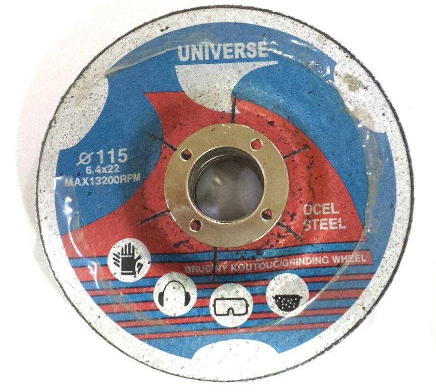 Ostatní - Kotouče brusné na kov (5 ks) 115x6 UNIV (NÁŘ108210)