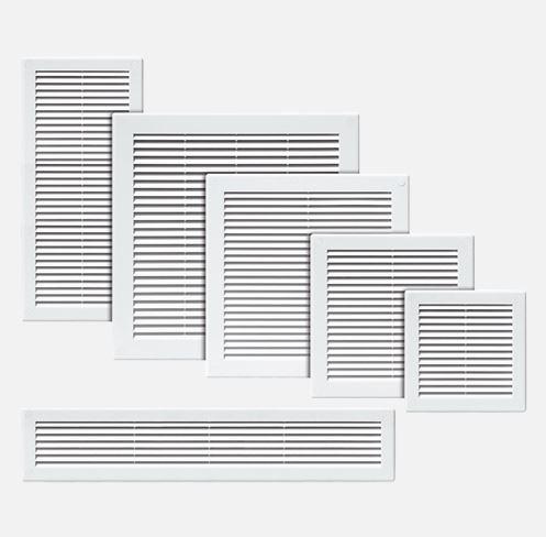 Ostatní - Mřížka větrací se síťovinou 180x250 (DEN/VE1108), fotografie 2/1