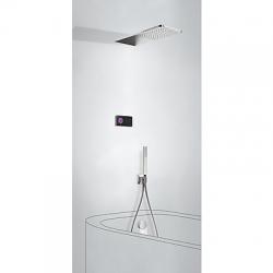 TRES - Termostatický podomítkový elektronický vanový set SHOWERTECHNOLOGY Včetně elektronického ovládání (černá barva). Za (09288321)