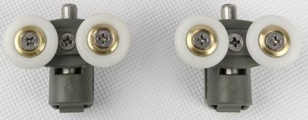 Ostatní - Náhradní díl - na sprch. kout GEO - 6 Sada závěsů (2ks dolní) (G60004XX)