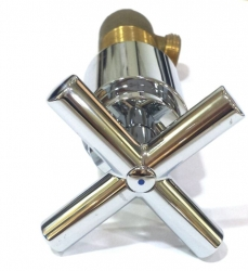 Ostatní - QUATTRO podomítkový ventil 1/2´´  CR   /   bal. 1KS (QTV010)
