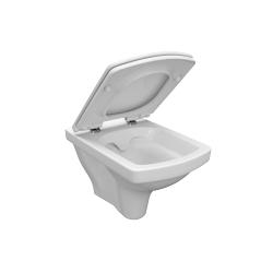 CERSANIT - ZÁVĚSNÁ MÍSA EASY NEW CLEANON BOX (K102-026), fotografie 2/3