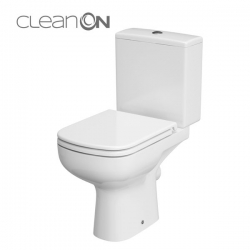 CERSANIT - WC KOMBI 573 COLOUR NEW CLEANON 011 3/5 BEZ SEDÁTKA (K103-025)