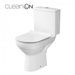 WC KOMBI 603 CITY NEW CLEANON 010 3/5 VČETNĚ SEDÁTKA SLIM (K35-037) - CERSANIT
