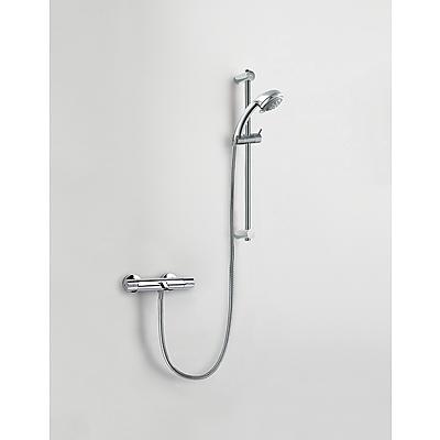 Termostatický vanová set · Posuvná tyč 516 mm (1.61.835). · Masážní sprcha, 3 polohy. (1. (183398)