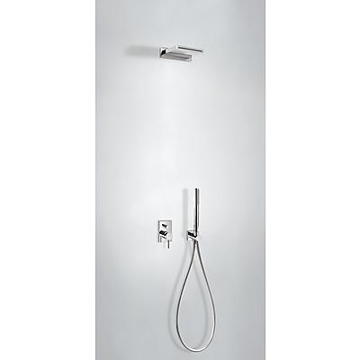 Podomítkový jednopákový sprchový set MAX s uzávěrem a regulací průtoku. · Včetně podomítko (06218005) Tres