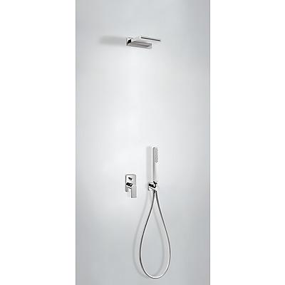 Podomítkový jednopákový sprchový set LOFT s uzávěrem a regulací průtoku. · Včetně podomítk (20018004) Tres