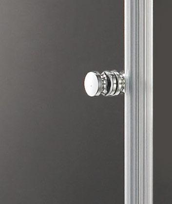 VÝPRODEJ - GLASS R31 120x90cm CHROM Sprchová zástěna, výplň sklo-frost (GLASSR31-21VYP), fotografie 6/3
