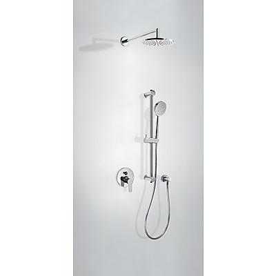 Sprchová sada vestavná s uzávěrem a regulací průtoku. · Včetně podomítkového tělesa · Pevn (117980) Tres