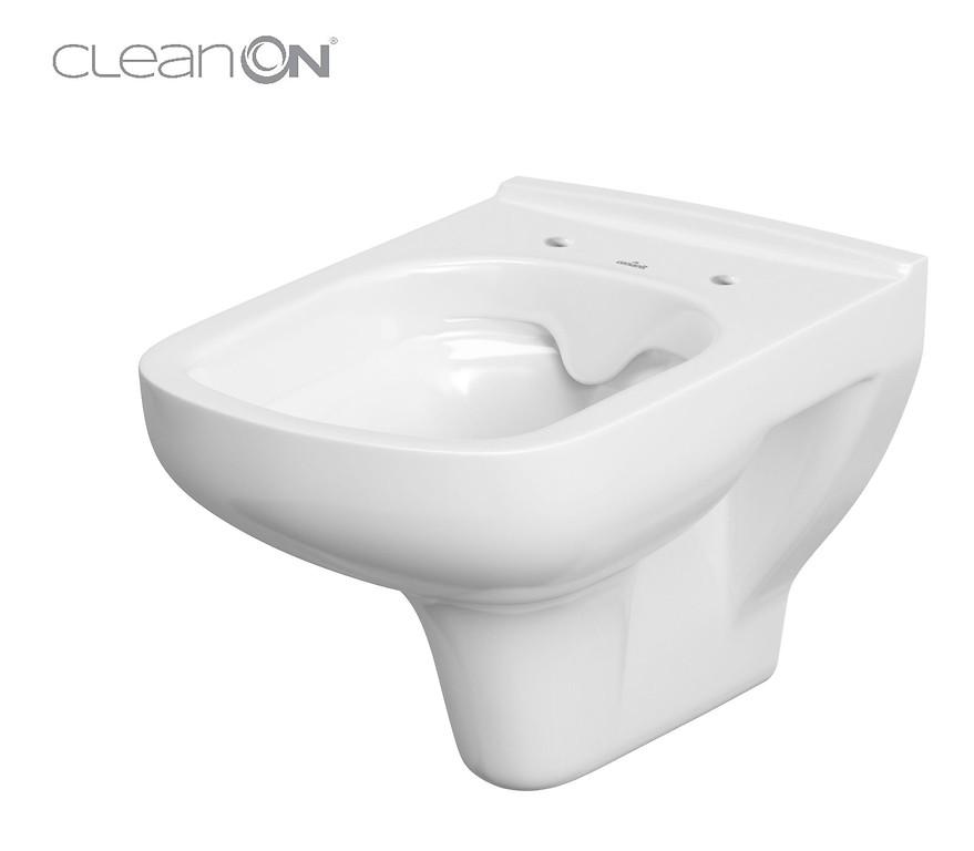 AKCE/SET/VIEGA - MONO modul WC čelní ovládání + ovládací tlačítko CHROM + WC CERSANIT COLOUR CLEANON + SEDÁTKO (V606732CR CN1), fotografie 4/9