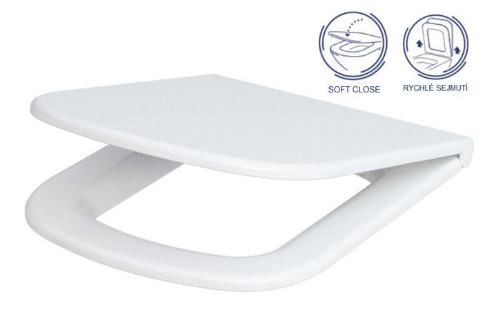 AKCE/SET/VIEGA - MONO modul WC čelní ovládání + ovládací tlačítko CHROM + WC CERSANIT COLOUR CLEANON + SEDÁTKO (V606732CR CN1), fotografie 18/9