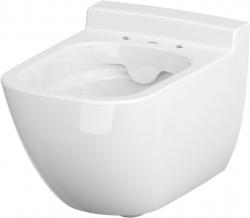 AKCE/SET/VIEGA - MONO modul WC čelní ovládání + ovládací tlačítko CHROM + WC CERSANIT CASPIA CLEANON + SEDÁTKO (V606732CR CP1), fotografie 2/9