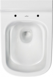 AKCE/SET/VIEGA - MONO modul WC čelní ovládání + ovládací tlačítko CHROM + WC CERSANIT CASPIA CLEANON + SEDÁTKO (V606732CR CP1), fotografie 4/9