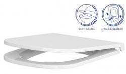 AKCE/SET/VIEGA - MONO modul WC čelní ovládání + ovládací tlačítko CHROM + WC CERSANIT CASPIA CLEANON + SEDÁTKO (V606732CR CP1), fotografie 18/9