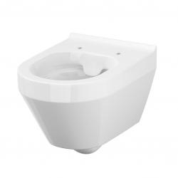 SET MONO modul WC čelní ovládání + ovládací tlačítko CHROM + WC CERSANIT CREA OVÁL CLEANON + SEDÁTKO (V606732CR CR1) - AKCE/SET/VIEGA, fotografie 6/9