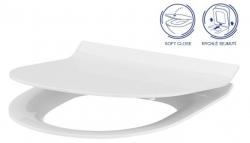SET MONO modul WC čelní ovládání + ovládací tlačítko CHROM + WC CERSANIT CREA OVÁL CLEANON + SEDÁTKO (V606732CR CR1) - AKCE/SET/VIEGA, fotografie 18/9