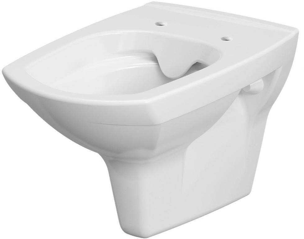 AKCE/SET/VIEGA - MONO modul WC čelní ovládání + ovládací tlačítko BÍLÉ + WC CERSANIT CARINA CLEANON + SEDÁTKO (V606732BI CA2), fotografie 4/9