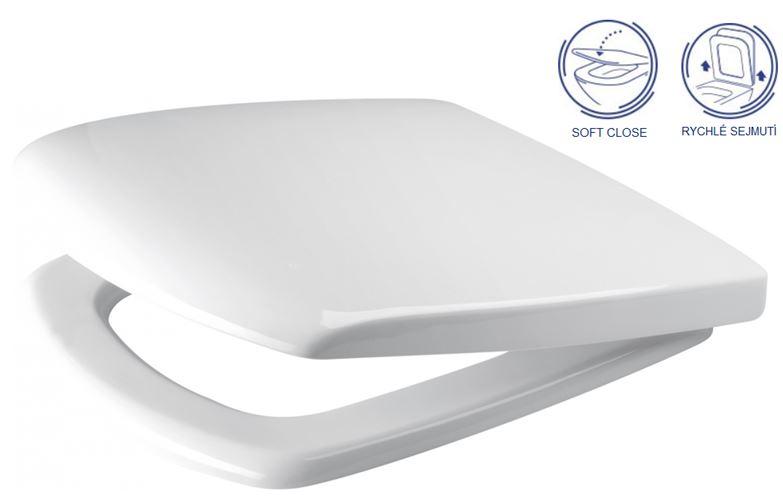 AKCE/SET/VIEGA - MONO modul WC čelní ovládání + ovládací tlačítko BÍLÉ + WC CERSANIT CARINA CLEANON + SEDÁTKO (V606732BI CA2), fotografie 18/9