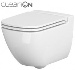 AKCE/SET/VIEGA - MONO modul WC čelní ovládání + ovládací tlačítko BÍLÉ + WC CERSANIT CASPIA CLEANON + SEDÁTKO (V606732BI CP1), fotografie 10/9